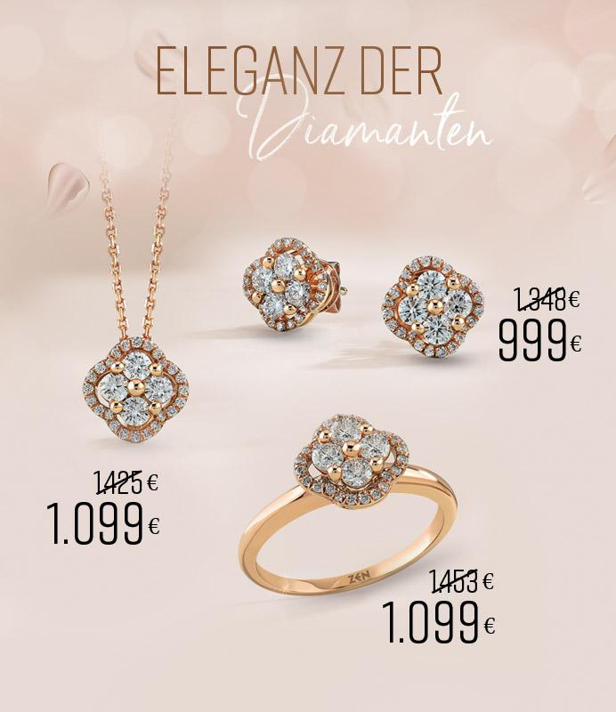 Eleganz der Diamanten