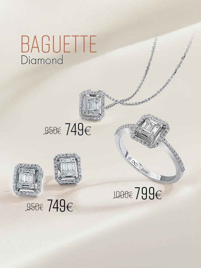 Baguette Ringe