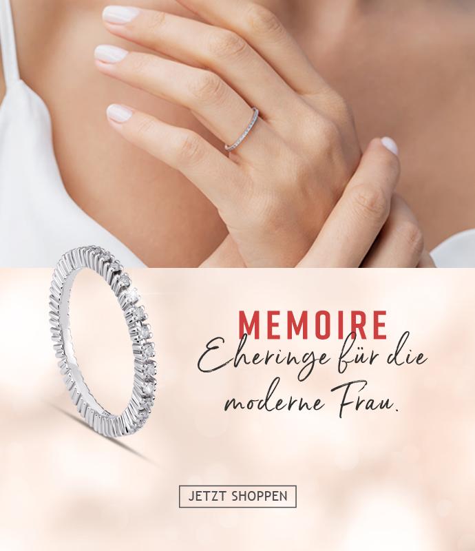 Moderne Memoire Diamantringe