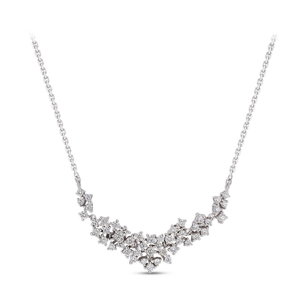 0.95 ct. Diamant Collier