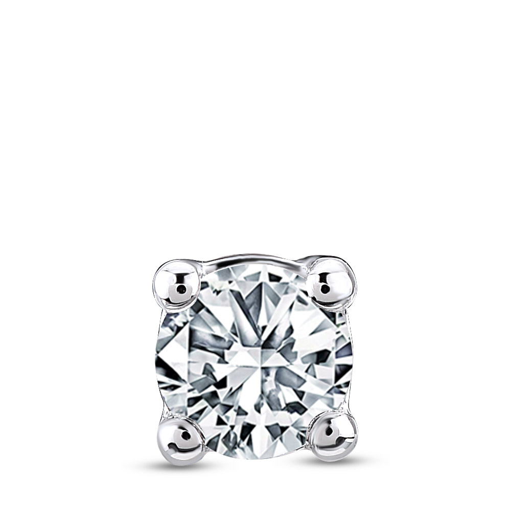 0.10 ct. Diamant Herren Ohrstecker