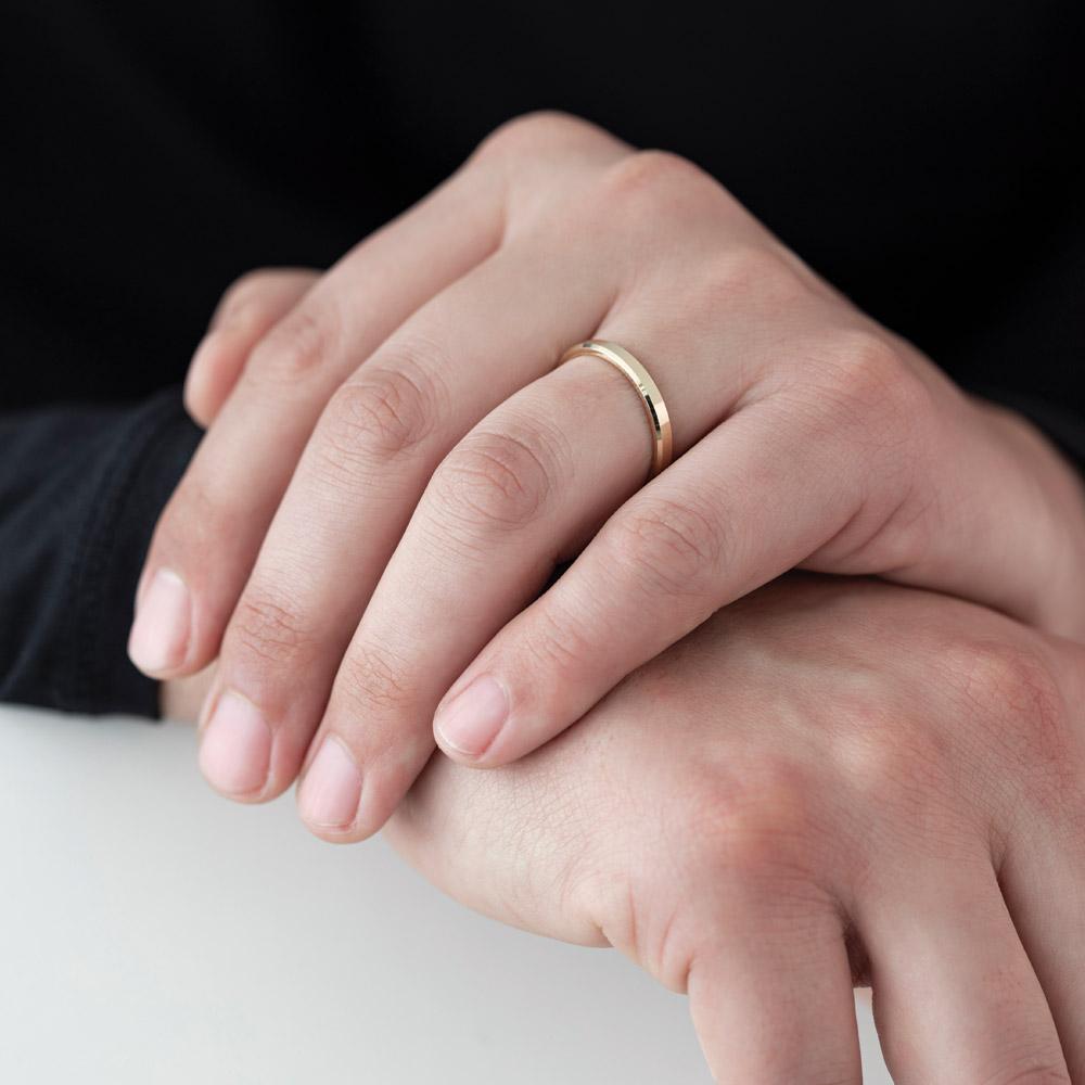 Moderner Ehering