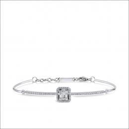Baguette Diamant Armband